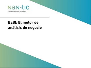 BaBI - Business analisis motor (Spanish)
