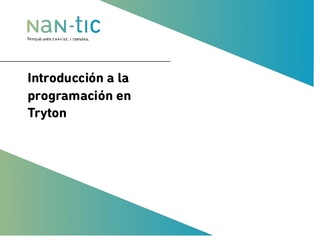 Introduction to Tryton programming (Spanish)
