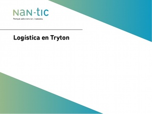 Logistics in Tryton (Spanish)
