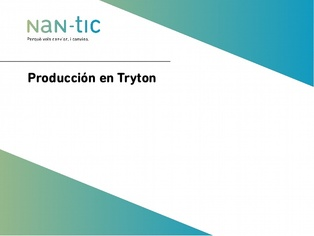 Production in Tryton (Spanish)