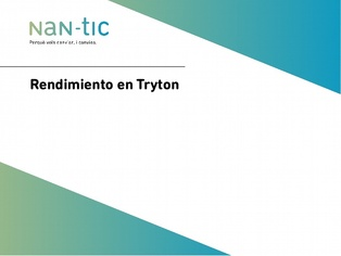 Tryton performance (Spanish)