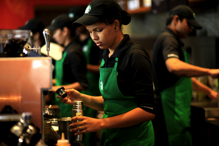 Starbucks' employees